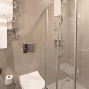 Standart single room at loop hotel vilnius